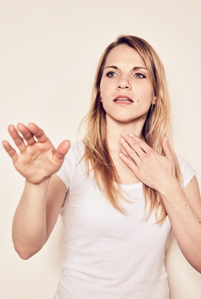 postoperativen Rehabilitation der Stimme